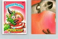 1987 SERIES 9 TOPPS GPK GARBAGE PAIL KIDS 355a BEASTY BOYD