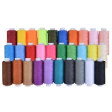 30 x Cotton Sewing Thread Spools Premium Quality Cotton Threads, 250 Yards