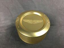 Genuine OEM Aston Martin Gold Underbonnet DB11 Oil Cap - HY53-6766-AA