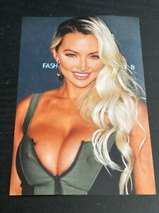 LINDSEY PELAS 4x6 GLOSSY PHOTO ~ Sexy Busty Model Babe posing ~ hot picture #L7