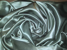 OLIVE GREEN 100% POLYESTER BACK CREPE SATIN FABRIC 60