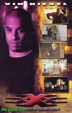 Movie Poster~xXx Vin Diesel 2002 Collage Sheet Xander Cage Gun Asia Argento 1~95
