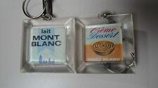 """Lait Mont Blanc - Porte-clés """"Crème Dessert"""""""