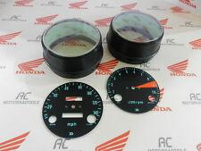 Honda CB 750 Four K0 Gauge Bezel Covers + Face Plates Speedometer Tachometer MPH