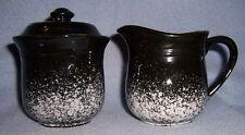 black Speckle stoneware SUGAR CREAM SIGNATURE TABLEROCK