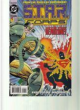 S.T.A.R. CORPS #1-4 SUPERMAN DC COMICS - DAN VADO SCRIPTS - 1993