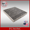 FC36156C(CARBON)PREMIUM CABIN AIR FILTER for 2011-2018 DODGE DURANGO 5.7L & 3.6L