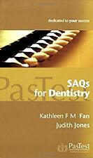 SAQs for Dentistry by Fan, K. F. M.