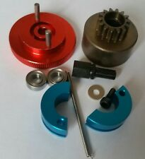 1/10 RC Nitro Clutch Flywheel Kit 2 Shoe Red