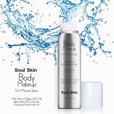 Seoul Soul Skin Body Makeup Body Cream Mousse Makeup Guide offers clear (skin)