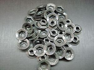 "45 pcs 3/16"" emblem name plate thread cutting nuts Ford Lincoln Mercury Edsel"