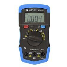 HOLDPEAK 36K Manual-Ranging Digital Multimeter, New, Free Shipping