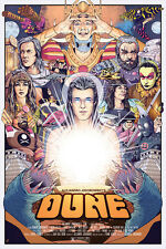"""Jodorowsky's Dune - Limited Edition 24"""" x 36"""" Poster - Movie/Film/Art"""