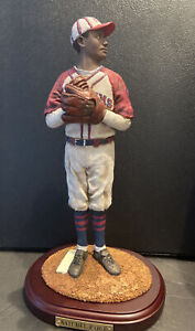"Satchel Paige Upper Deck Collectibles Historical Beginnings BOXED 12"" FIGURINE"