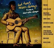 God Don't Never Change: The Songs Of Blind Willie Johnson - Various (NEW CD)