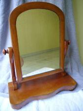 Vintage Shaving mirror / alter Rasierspiegel Holz / wood