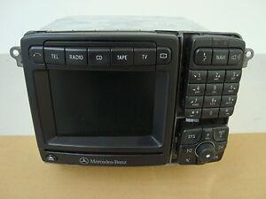 Mercedes Benz S-Klasse W220 W215 Cl Navi Comand 2.5 A2208203789 Radio-CD defekt