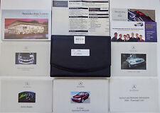 2001 Mercedes W203 C Class C240 C320 Owner Manuals Driver Book Pouch Set 051717P