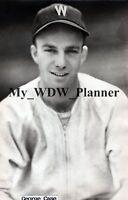 Vintage Photo 89 - Washington Senators - George Case