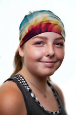 New Vita Headwear Afternoon Sun Design Headband,Headwrap,Multifunctional,Running