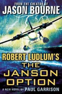 The Janson Option by Paul Garrison ~ Hardcover ~ 2014 ~ no dust jacket