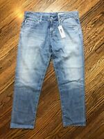 NWT AG Adriano Goldschmied The Ex Boyfriend Slouchy Slim Size 28R ALTERED