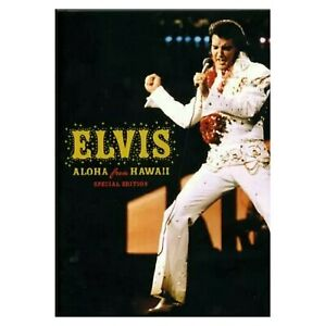 Elvis Presley - Aloha From Hawaii Special Edition 1973 (DVD, R4, 2006) Rare New