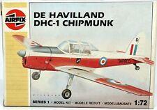 1/72 Airfix DE HAVILLAND DHC-1 CHIPMUNK Plane Model Kit Sealed Bag FREE SHIP