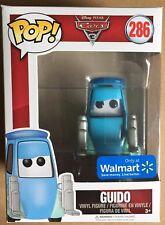 Funko Pop Disney Pixar Cars 3 Guido Wall Mart Exclusive #286 Vinyl Bobble-head