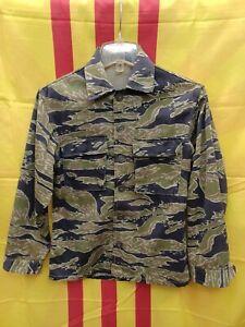 Vietnam Tigerstripe Jacket LRRP Macv SOG Mike Force US Army Special Forces SEAL