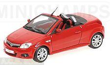 Opel Tigra Twintop 2004-09 rojo rojo 1:43 Minichamps