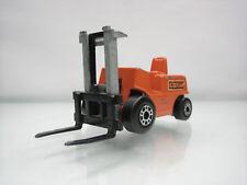 Diecast Matchbox Superfast Fork Lift Truck No.15 Orange Good Condition