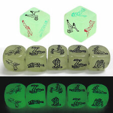 Glow in the Dark Dice Lovers Adult Bedroom Sex Board Games Couple Bachelor Party