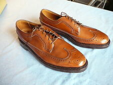 Florsheim Imperial Kenmoor (93602) Men's 9 A  Long Wing Tip Brown V-cleat BOXED
