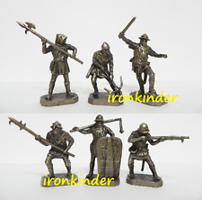 Hussites Metal Toy collection soldier 40mm