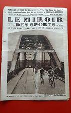 Le Miroir des Sports 377 du 28/06/1927