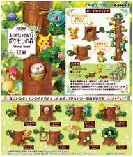 "Pokemon "" Pokemon Forest "" 8 item All sets from Japan Re-Ment  SALE anime F/S"
