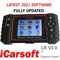 Range Rover L322 Diagnostic Scan Tool & Reset Fault Code Reader iCarsoft LR V2.0