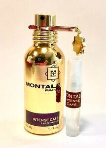 MONTALE - Intense Cafe 2ml Original Sample. Gorgeous Rose Oud and Coffee