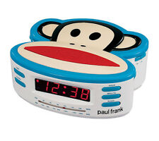 Paul Frank pf250 am/fm desktop radio clock with back up battery