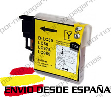 1 CARTUCHO COMPATIBLE AMARILLO NonOem BROTHER LC985 DCP-J515W DCPJ515W