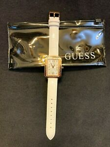 NEW! Guess Watch Women's Leather Band Wrist