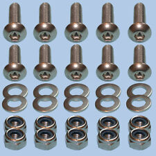 Rear Cross Member Socket Bolt Kit Set STAINLESS STEEL Land Rover Defender 90 110