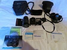 Fotocamera YASHICA FX-3 + Flash MAXWELL M-400C + Obiettivo VIVITAR Macro 28 - 21