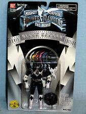 Power Rangers Mmpr película Edition Black Ranger Nuevo en Caja Incluye Moneda de película