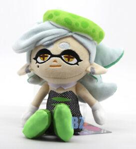"Marie Green Plush 8.5"" Splatoon 2 Little Buddy 1470"