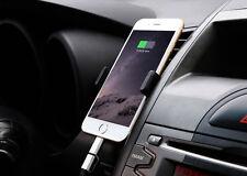360° Drehbar Auto KFZ Das Lüftungsgitter Halterung Handy Halter MP3 Player