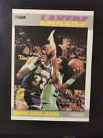 1987-88 Fleer Kareem Abdul-Jabbar #1, HOF, Los Angeles Lakers