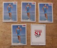 Ana Ivanovic 2008 Spotlight Tribute a Lot of 5 Cards