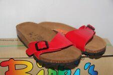 BIRKI ' S - Mules Sandales Menorca Rouge 139363 -  T : 29 neuf